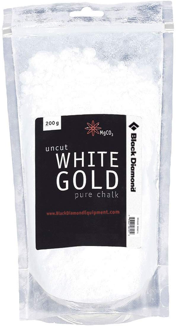 Black Diamond White Gold Uncut Pure Chalk