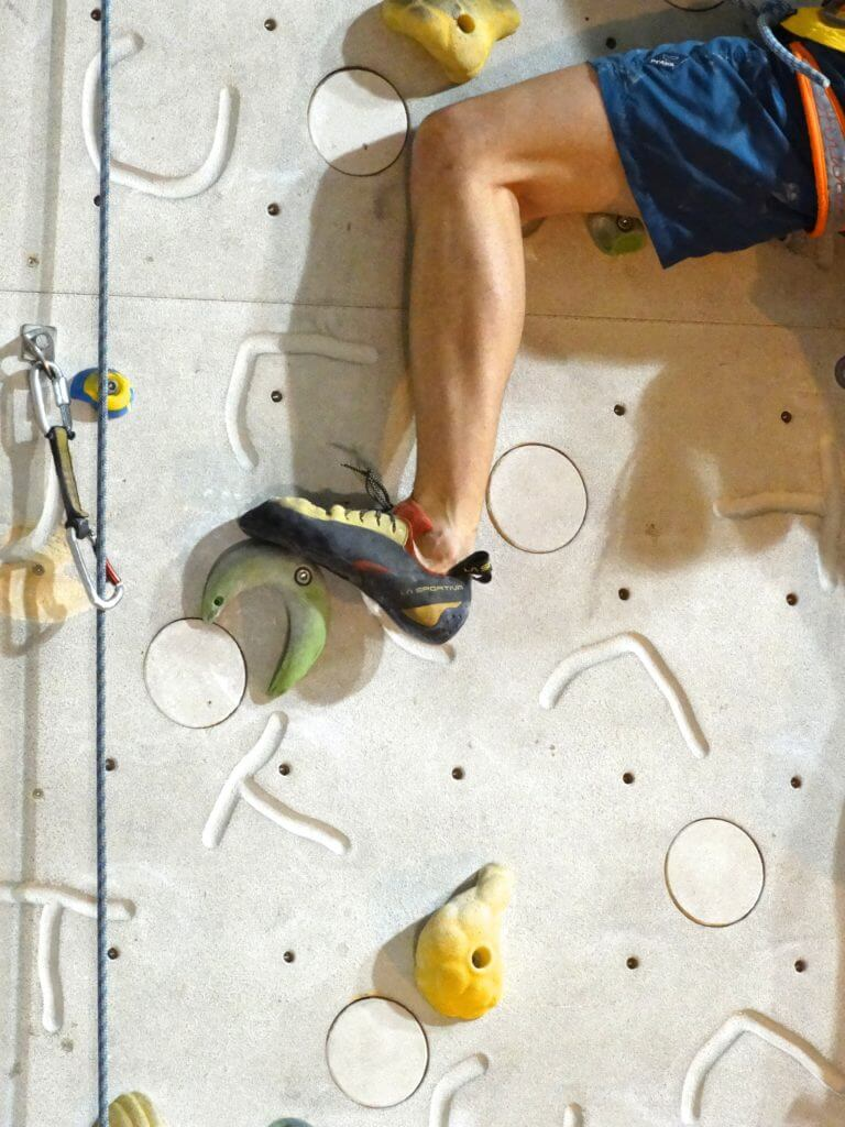 Make Climbing Shoes Sticky Again